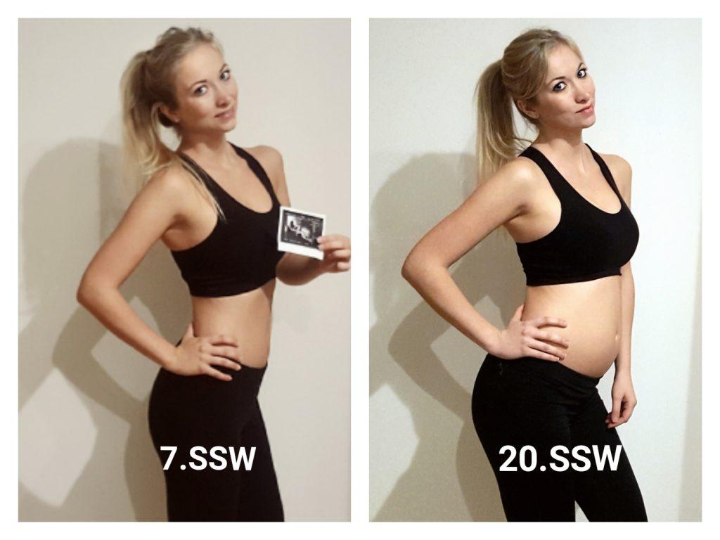 Gewichtszunahme 7. Monat